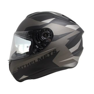 MT Targo Enjoy Motorcycle Helmet Matt Black