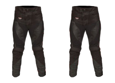 Leather & Textile Trousers