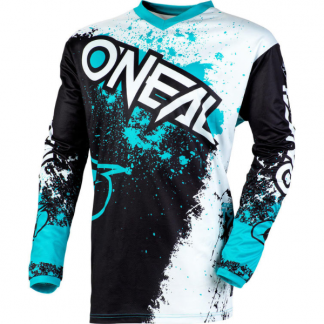 ONeal Element Impact 2020 Motocross Jersey Teal