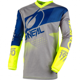 ONeal Element Factor 2020 Motocross Jersey Grey