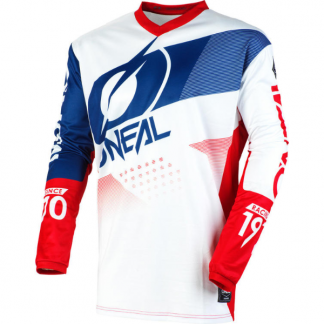 ONeal Element Factor 2020 Motocross Jersey White