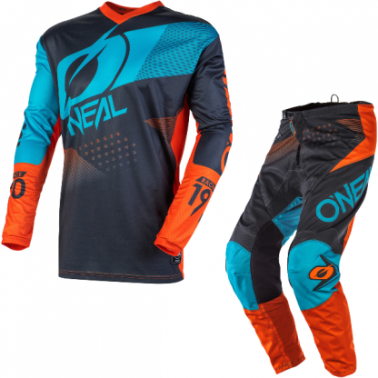 ONeal Element Factor 2020 Motocross Kit Blue
