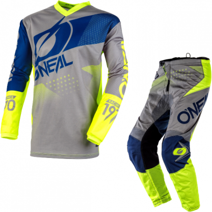 ONeal Element Factor 2020 Motocross Kit Grey