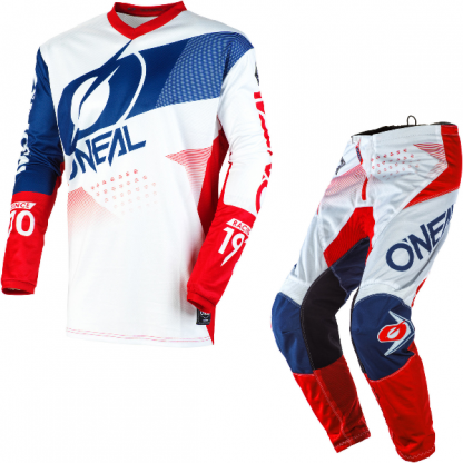 ONeal Element Factor 2020 Motocross Kit White