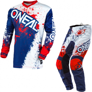 ONeal Element Impact 2020 Motocross Kit Blue