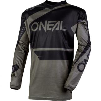 ONeal Element Racewear 2020 Motocross Jersey Grey
