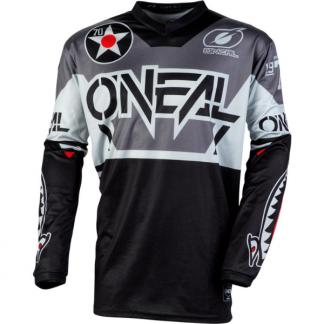 ONeal Element Warhawk 2020 Motocross Jersey Black