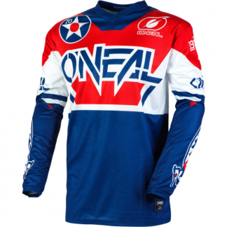 ONeal Element Warhawk 2020 Motocross Jersey Blue