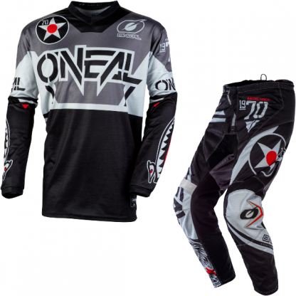ONeal Element Warhawk 2020 Motocross Kit Black