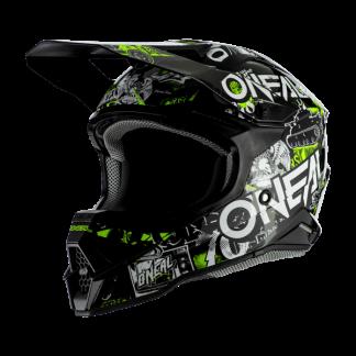 Oneal 3 Series Attack 2.0 Motocross Helmet Black