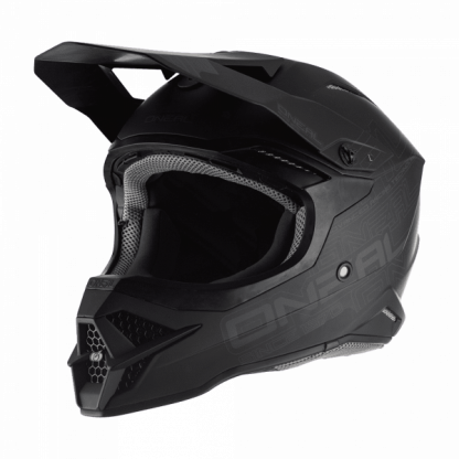Oneal 3 Series Flat 2.0 Motocross Helmet Matt Black