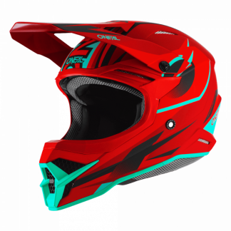 Oneal 3 Series Riff 2.0 Motocross Helmet Red