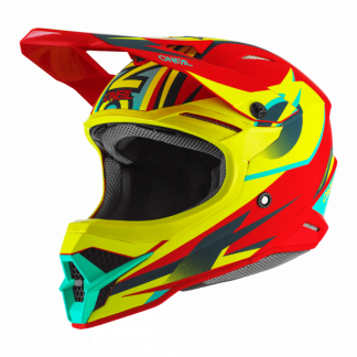 Oneal 3 Series Riff 2.0 Motocross Helmet Yellow