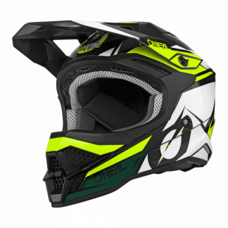 Oneal 3 Series Stardust Motocross Helmet Black