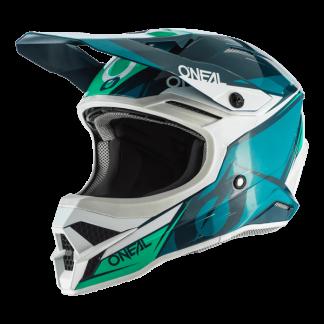 Oneal 3 Series Stardust Motocross Helmet Teal