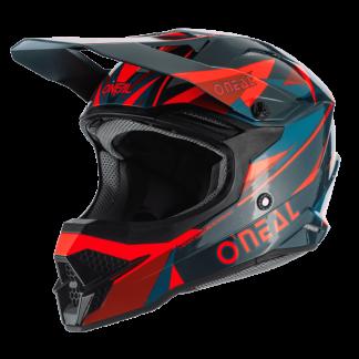Oneal 3 Series Triz Motocross Helmet Dark Green
