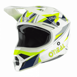 Oneal 3 Series Triz Motocross Helmet Yellow
