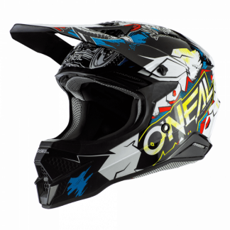 Oneal 3 Series Villian 2.0 Motocross Helmet White