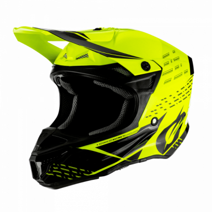 Oneal 5 Series Trace Motocross Helmet Yellow