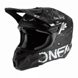 Oneal 5 Series HR Motocross Helmet Black