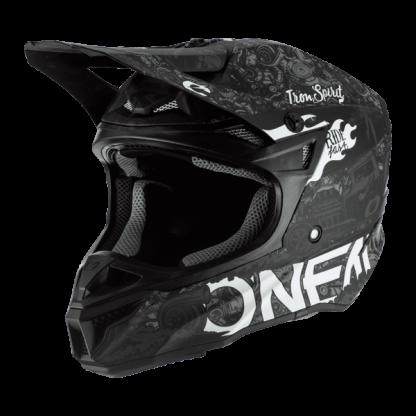Oneal 5 Series HR Motocross Helmet Black
