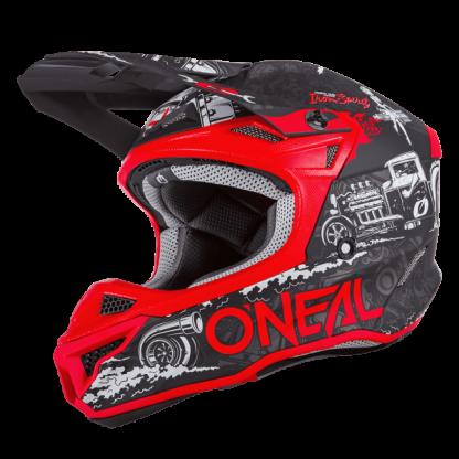 Oneal 5 Series HR Motocross Helmet Red