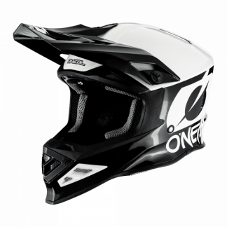 Oneal 8 Series 2T Motocross Helmet Black