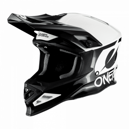 Oneal 8 Series 2T Motocross Helmet Black