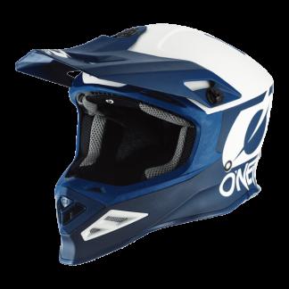 Oneal 8 Series 2T Motocross Helmet Blue