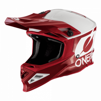 Oneal 8 Series 2T Motocross Helmet Red