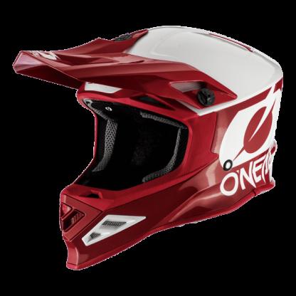 Oneal 8 Series 2T Motocross Helmet Red