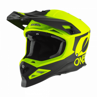Oneal 8 Series 2T Motocross Helmet Yellow