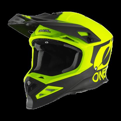 Oneal 8 Series 2T Motocross Helmet Yellow
