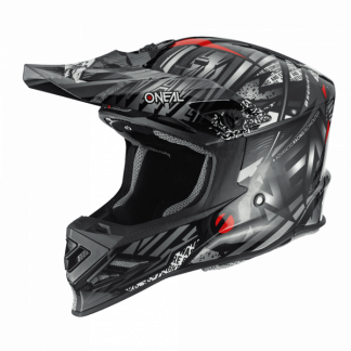 Oneal 8 Series Synthy Motocross Helmet Black
