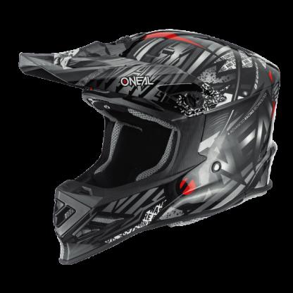 Oneal 8 Series Synthy Motocross Helmet Black