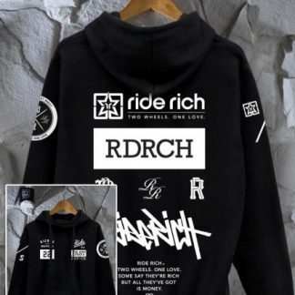 Ride Rich GP Motorcycle Hoodie