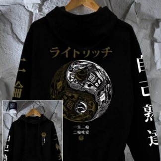 Ride Rich Master Of Self Motorcycle Hoodie
