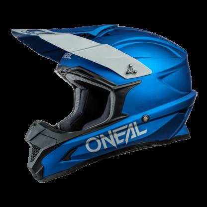 ONeal 1 Series Solid Motocross Helmet Blue