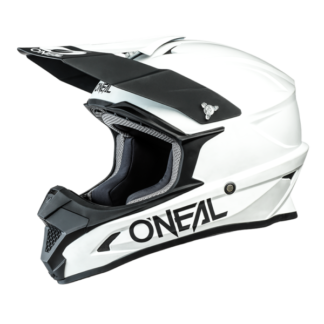 ONeal 1 Series Solid Motocross Helmet White