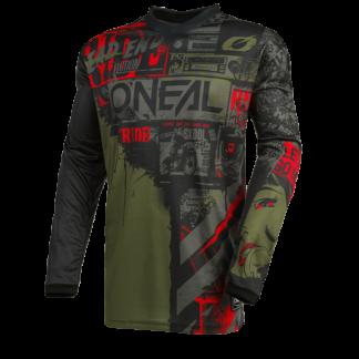 ONeal Element Ride 2021 Motocross Jersey Green