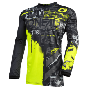 ONeal Element Ride 2021 Motocross Jersey Yellow