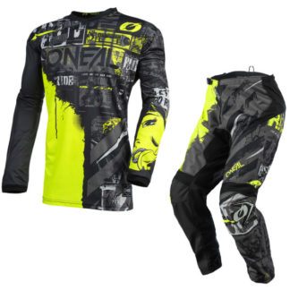 ONeal Element Ride 2021 Motocross Kit Yellow