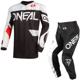 ONeal Element Racewear 2021 Motocross Kit Black