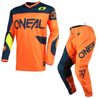 ONeal Element Racewear 2021 Motocross Kit Orange
