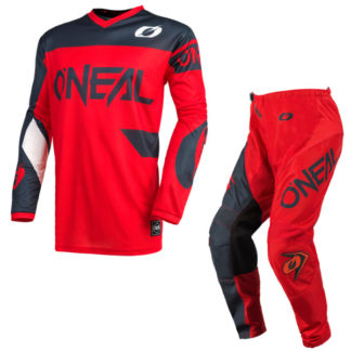 ONeal Element Racewear 2021 Motocross Kit Red