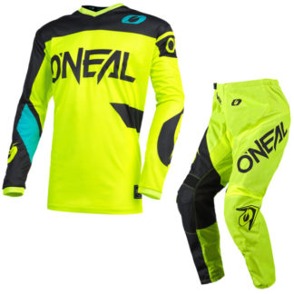 ONeal Element Racewear 2021 Motocross Kit Yellow