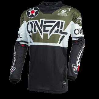ONeal Element Warhawk 2021 Motocross Jersey Green