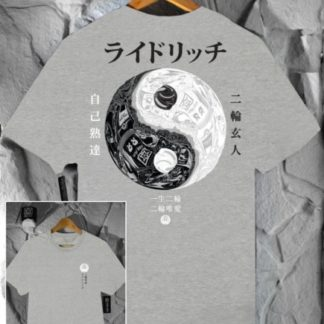 Ride Rich Master of Self T Shirt Grey