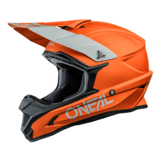 ONeal 1 Series Solid Motocross Helmet Orange