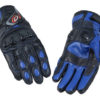 PB Dell Motorcycle Gloves Knox SPS Blue